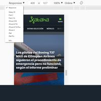 Cómo entrar a la versión móvil de cualquier página web desde tu ordenador