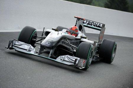 Mercedes GP revisará su difusor de cara a Monza