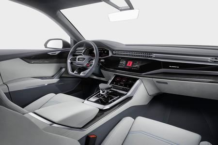 Audi Q8 Concept interior