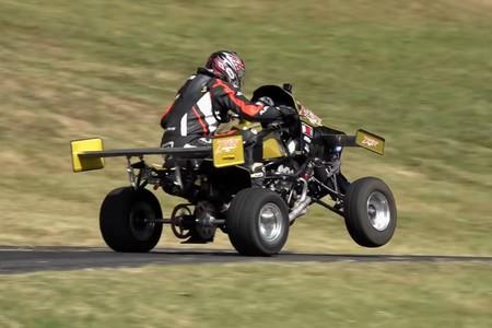 ¡Brutal! Este quad es una salvajada indomable con 140 CV y alerones activos