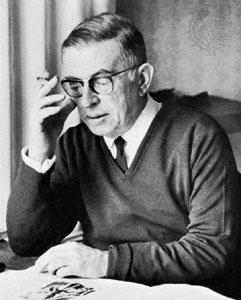 Reaparece después de más de 20 años la lápida de la tumba de Sartre
