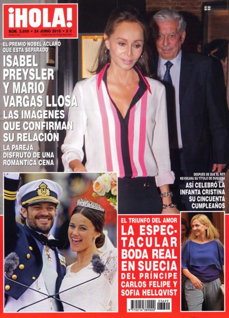 Amor otoñal: Isabel Preysler y Mario Vargas Llosa cada día más unidos