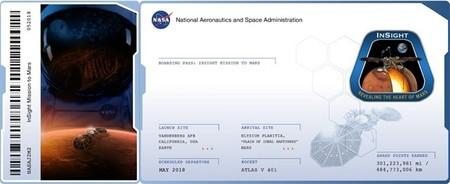 2.429.807 'tarjetas de embarque' han sido remitidas la misión InSight