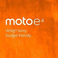 Motorola Moto E4, un smartphone  básico con lector de huellas, por sólo 99 euros en Amazon