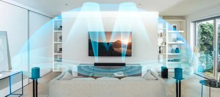 Sony presenta la HT-A5000, su próxima barra de sonido compatible con Dolby Atmos, DTS:X y  HDMI 2.1