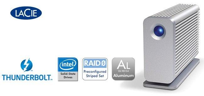 LaCie Little Big Disk de 500 GB SSD con Thunderbolt