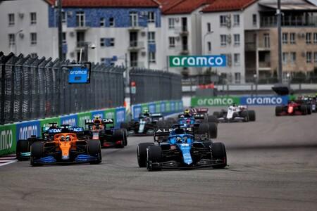 Alonso Rusia F1 2021 2