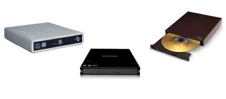 Grabadoras DVD externas y portátiles