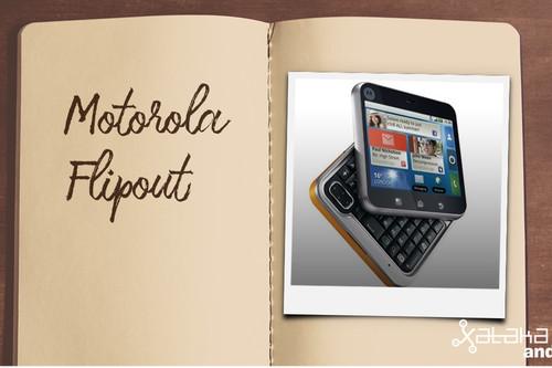 Móviles con los que flipaste en su día: Motorola Flipout