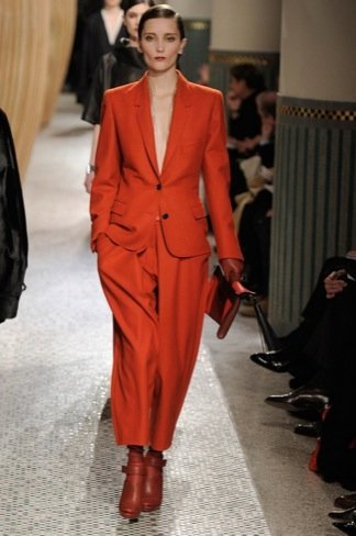 Hermès Otoño-Invierno 2011/2012 rojo