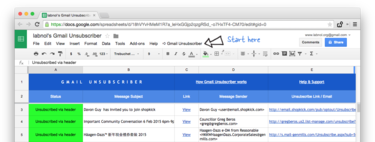 How to delete multiple mailing list subscriptions from Gmail without using third-party services