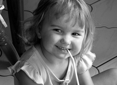 Manchas en los dientes de los niños