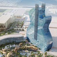 Un rascacielos con forma de guitarra: el nuevo Hard Rock Hotel & Casino en Hollywood