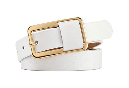 Cinturon Piel Amazon Lujo Pin