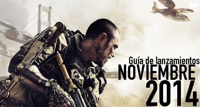Guía de lanzamientos: noviembre de 2014