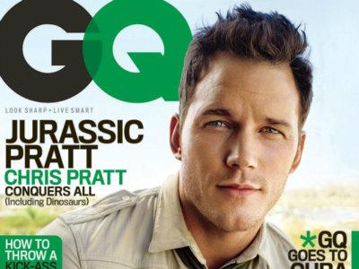 Jurassic Pratt: las 5 portadas que te harán querer ser como Chris Pratt