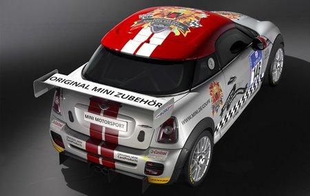 Mini John Cooper Works Coupé Endurance en las 24 Horas de Nürburgring
