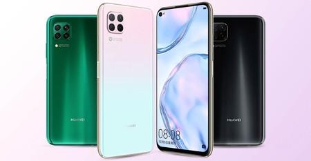 Huawei Nova 6 SE, un nuevo móvil con cuatro cámaras traseras y buena relación calidad/precio