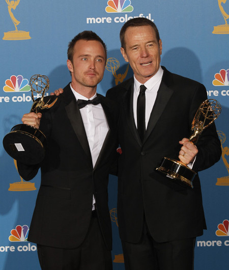 Walter White y Jesse Pinkman ganan un Emmy