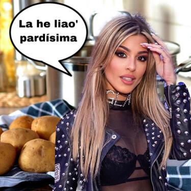 Pesadilla en la cocina by Oriana Marzoli: intenta currarse sus primeras lentejas y se confirma lo evidente, no sabe pelar ni una patata
