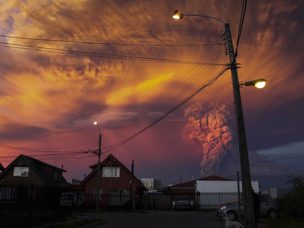 Vocan Calbuco Chile 4