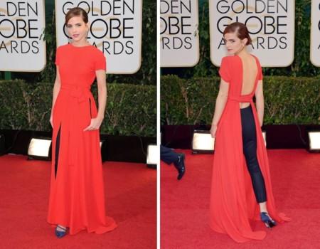 Emma Watson Globos Oro 2014