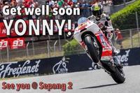 Yonny Hernandez se perderá el test de Sepang tras una caída