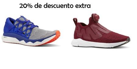 Cupón de descuento del 20% extra en Reebok: 9 zapatillas para hombre y mujer donde aprovecharlo
