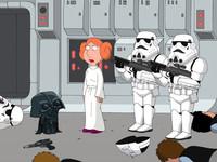 La parodia de Star Wars de Padre de familia, en DVD