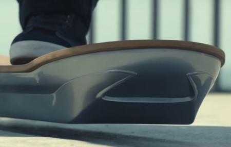 Así sería la patineta de 'Volver al Futuro'en la vida real