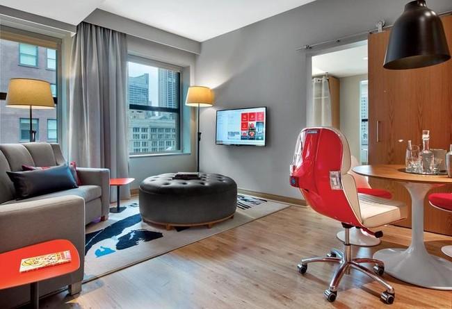 Belybel Scooter Chair Virgin Hotel Chicago Suite1