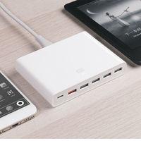 Oferta Flash: cargador QC3.0 Xiaomi, con 5 puertos USB y USB-C, por 20,64 euros y envío gratis