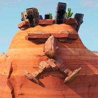 Guía Fortnite: visita una cara gigante en el desierto, la jungla y la nieve [Temporada 8, semana 1]
