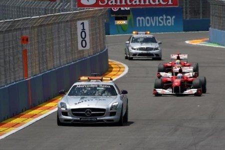 GP de Gran Bretaña 2010: Se aclarará la normativa del Safety Car