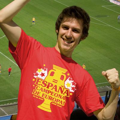 Camiseta España campeona de Eurocopa