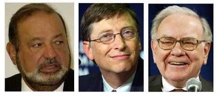 Bill Gates y Warren Buffet pierden billones de la mejor forma