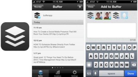 Buffer, una app para publicar tweets programados