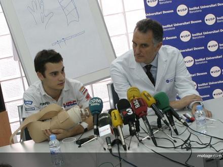 Dani Pedrosa estará casi dos meses de recuperación