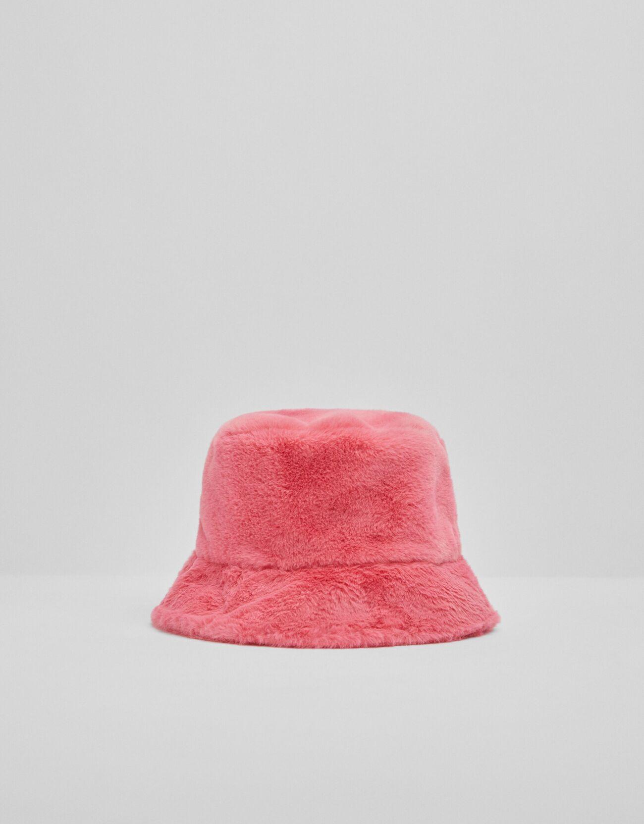 Bucket efecto pelo rosa.