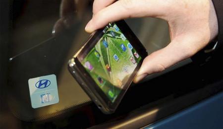Hyundai smartphones NFC