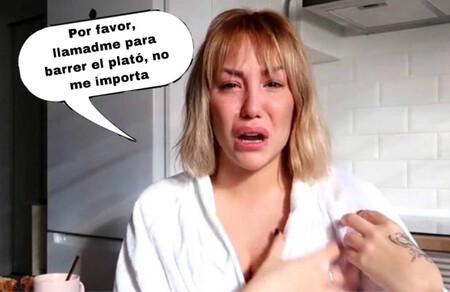 Steisy, rota y hundida en un mar de lágrimas porque Telecinco no cuenta con ella en sus programas