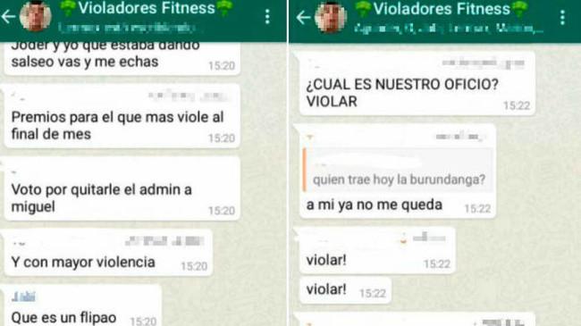 """""""La manada de Albacete"""": bromear por WhatsApp con una violación no es delito, difundirlo por Twitter sí"""
