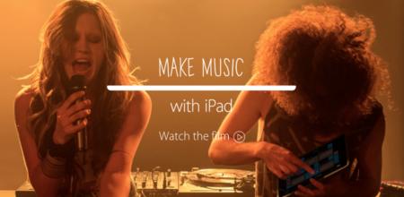 Apple nos anima a crear música con el iPad en su nueva campaña