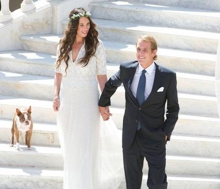 Boda principesca en Gstaad: Tatiana Santo Domingo y Andrea Casiraghi pasarán por el altar