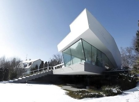 House R, una casa de diseño en plena montaña