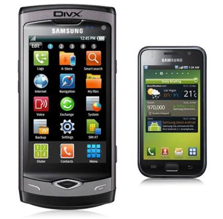 Samsung Wave certificado DivX HD, el siguiente: Samsung Galaxy S