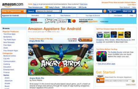 Amazon Appstore ya disponible (en los Estados Unidos)