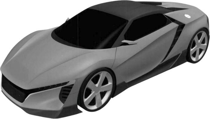 Patente Honda Zsx