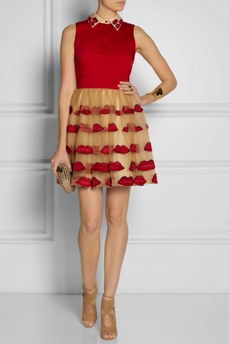 Vestidos besos 3D
