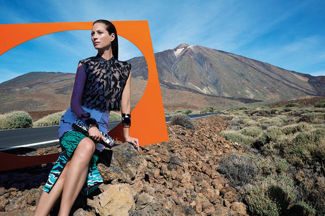 Foto de Missoni Primavera-Verano 2014 con Christy Turlington (1/9)